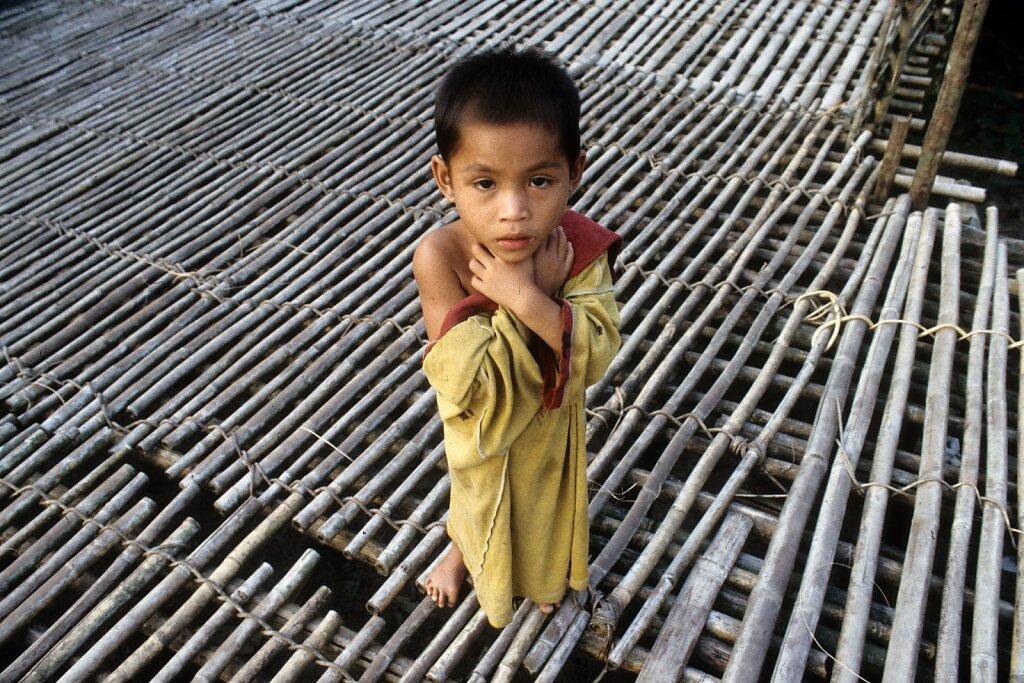 little iban boy